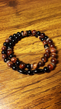 Red Tiger's Eye Double Wrap. $32.00