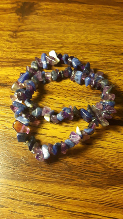 Amethyst and Sodalite Dble Wrap $15