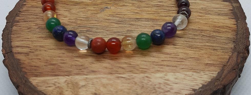 Rainbow Chakra Single Wrap