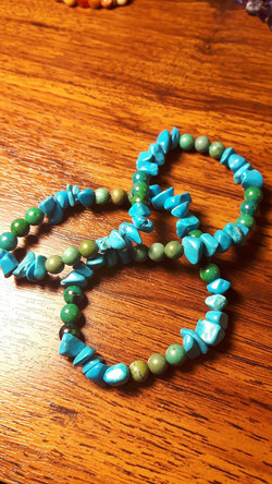 Turquoise Dbl Wrap $15