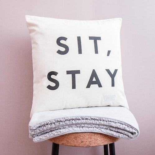 SIT STAY CANVAS CUSHION