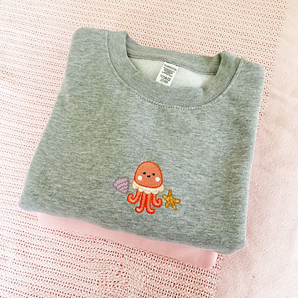 I can't go to the beach - Organic Sweater