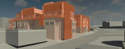 מגורים בשדרות - מבנה מגורים