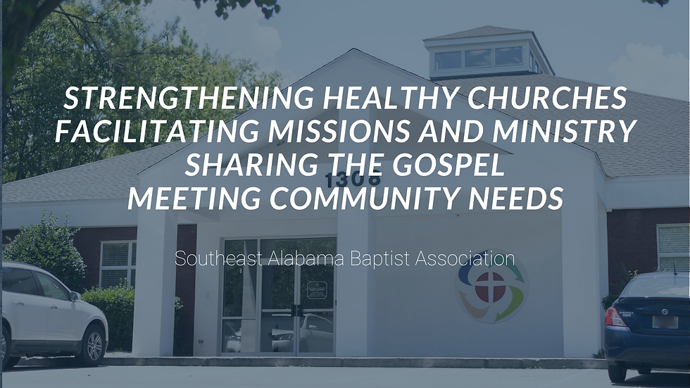 Strengthening healthy churches facilitat