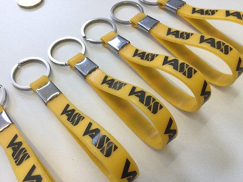 Vass Keyring Loop Yellow