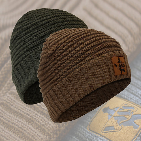 Vass 'Fleece Lined' Ribbed Beanie