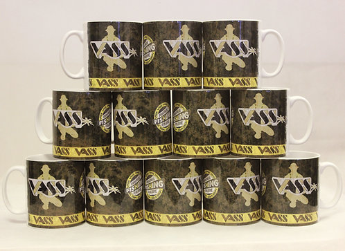 Vass Retro Fishing Culture Mug