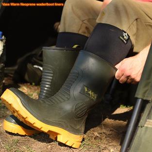 Vass warm Neoprene wader boot liner