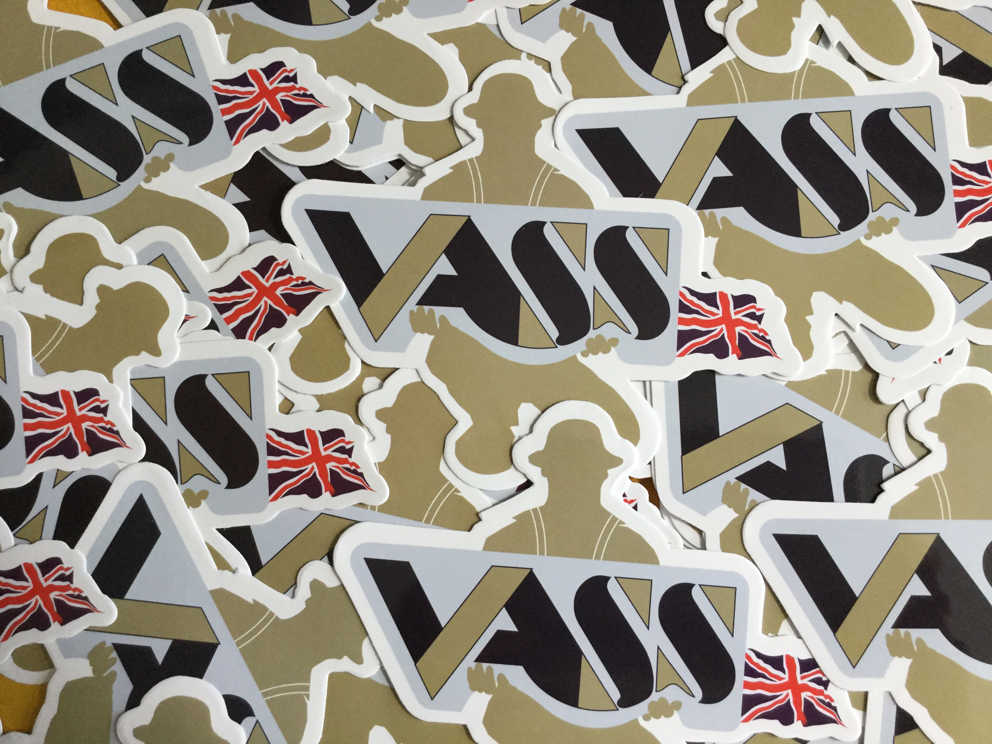 Vass Tackle Box Stickers