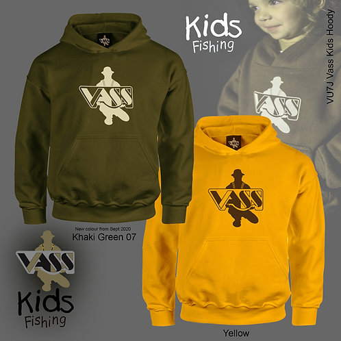 Vass Kids Fishing Hoody