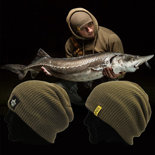 Vass Khaki Soft Slouch fishing Beanie hat