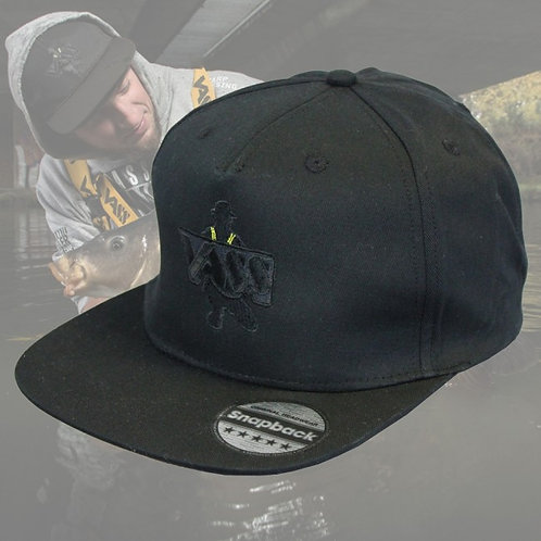 Vass 'Stealth Black' SnapBack Fishing Cap