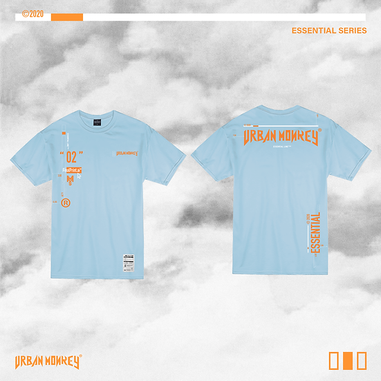 ESSENTIAL TEE - BABY BLUE