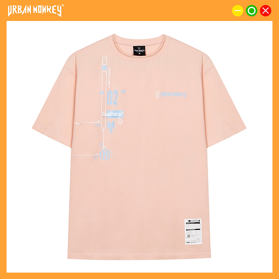ESSENTIAL TEE -CANDY PINK