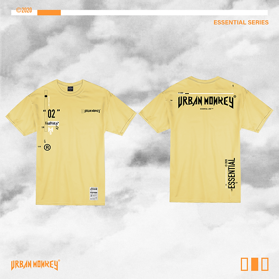 ESSENTIAL TEE - YELLOW CHEESE