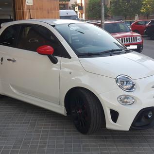 OFERTA IRRESISTIBLE!! FIAT 500 ABARTH 595 1.4 T-JET PISTA DE 160CV CON 1.890KM, POR TAN SÓLO 20.990€