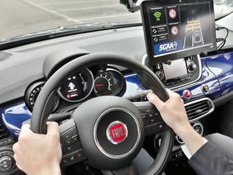 FCA muestra que la tecnología 5G puede hacer que los coches sean más inteligentes y la conducción má