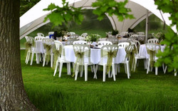 Star Tent Tables
