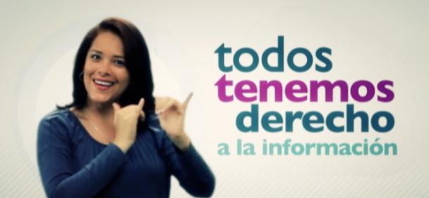 El contenido de la televisión puertorriqueña dirigido a la comunidad sorda