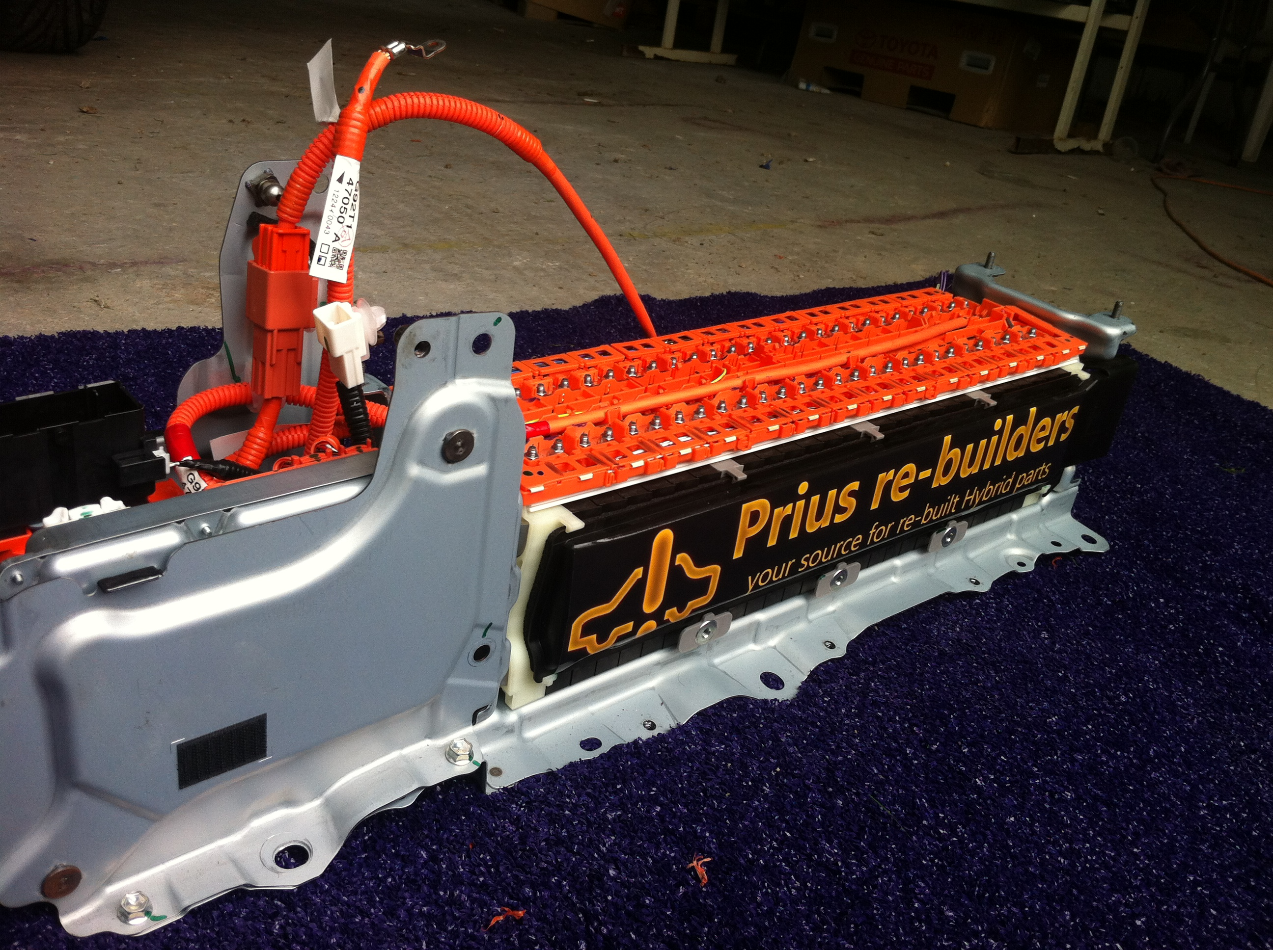 New From Prius Re Builders Israel Our First Lithium Hybrid Battery Build