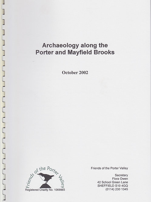 Archaeology along the Porter and Mayfield Brook (October 2002)
