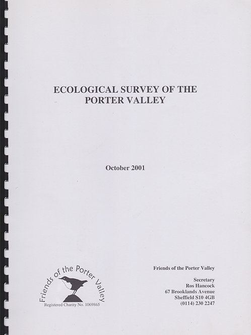 Ecological Survey of the Porter Valley