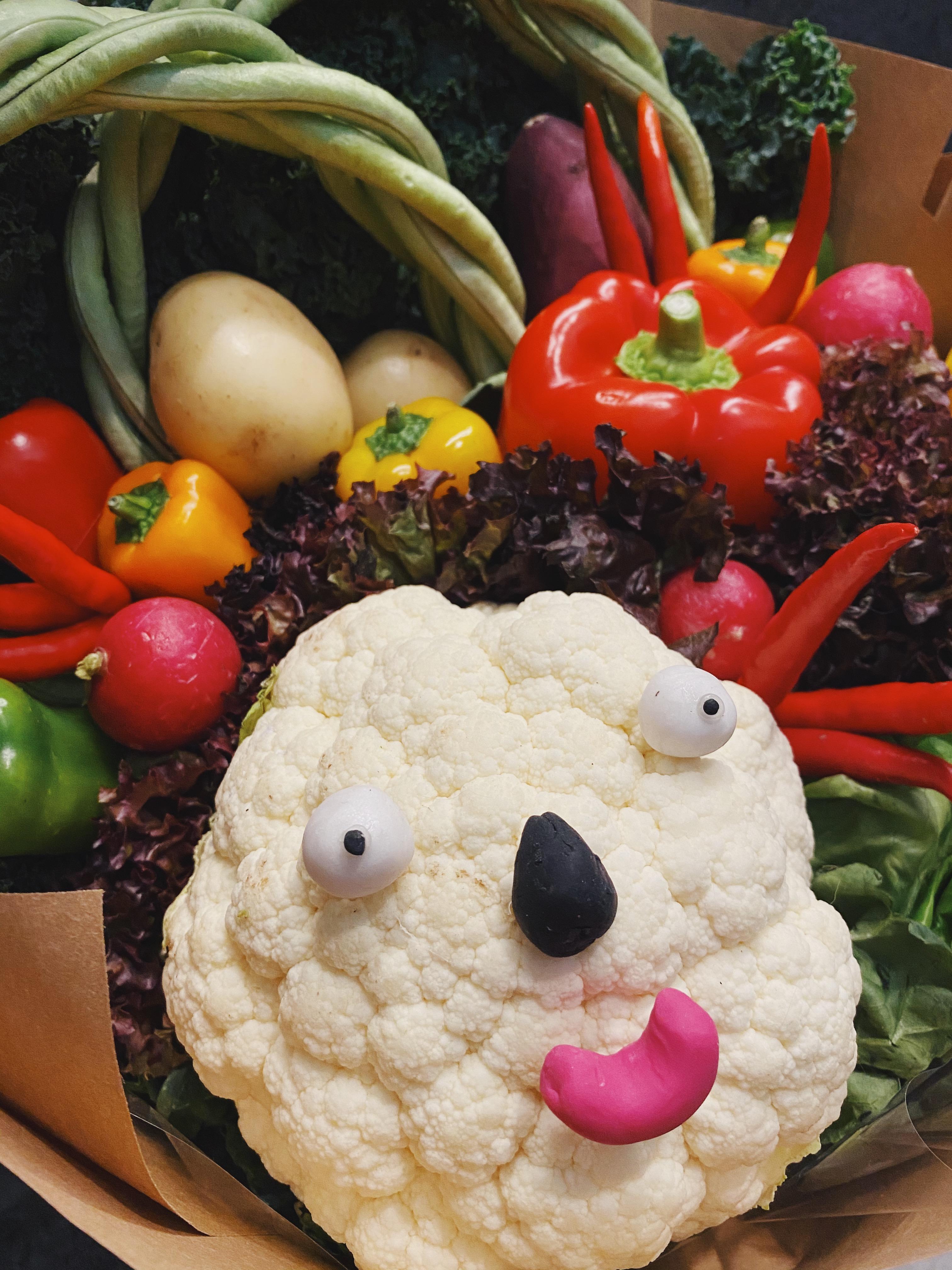 Smiley cauliflower