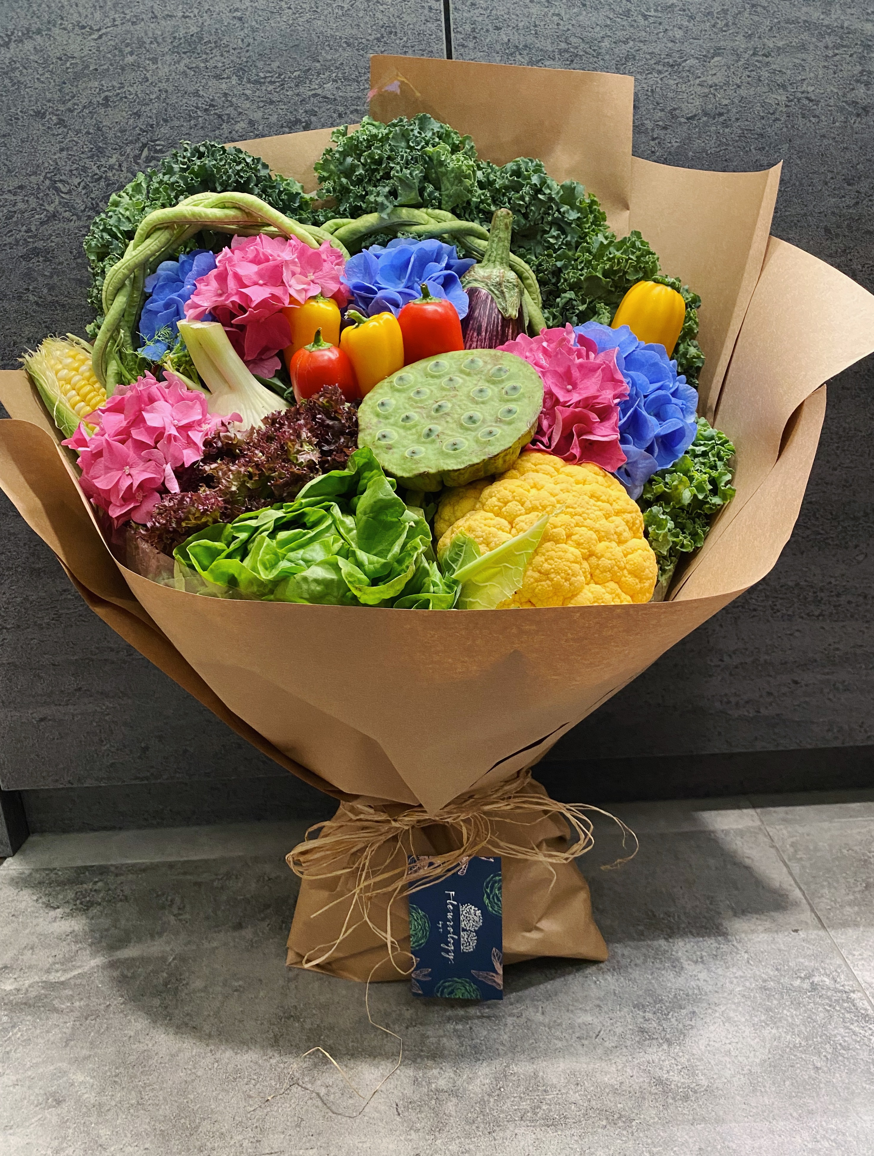 Oh My Veggie Bouquet