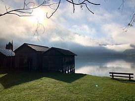 Der Hallstätter See. Ausgangspunk für einige Aktivitätet bei Outback Adventure