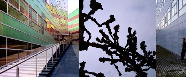 Déplacements, Édifice La Défence, Almere, Pays Bas 2006