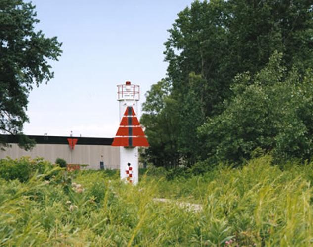 Paysage étalonné,  signalisation maritime, lac Ontario, Toronto, 1998