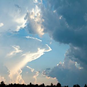 Espace aérien, près du Mont Orford, Qc. 2014