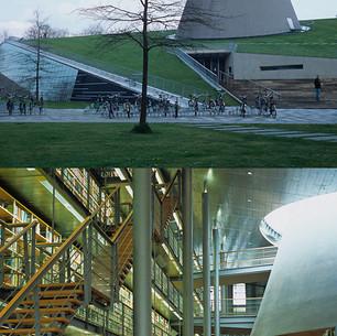 Série Déplacements, Bibliothèque, Delft, Pays-Bas  2009,