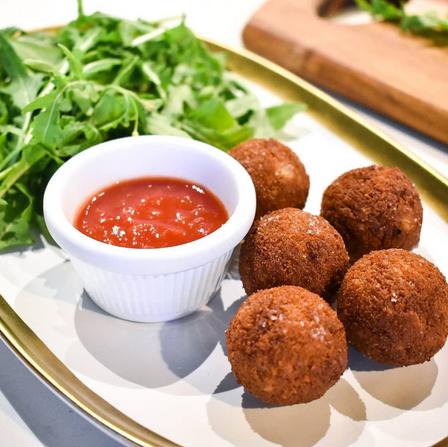 Truffled Arancini Balls