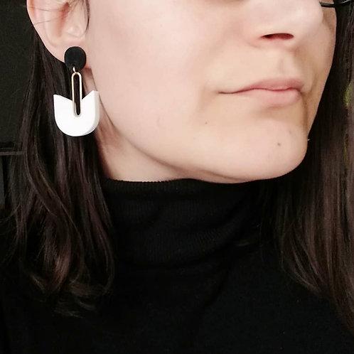 Boucles d'oreilles Mowak