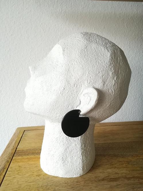 Pie Hoop Earrings