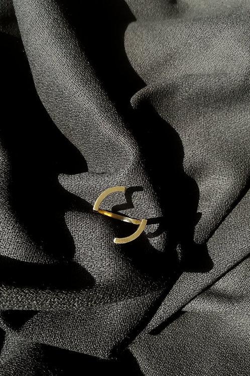 Moon Brass Ring