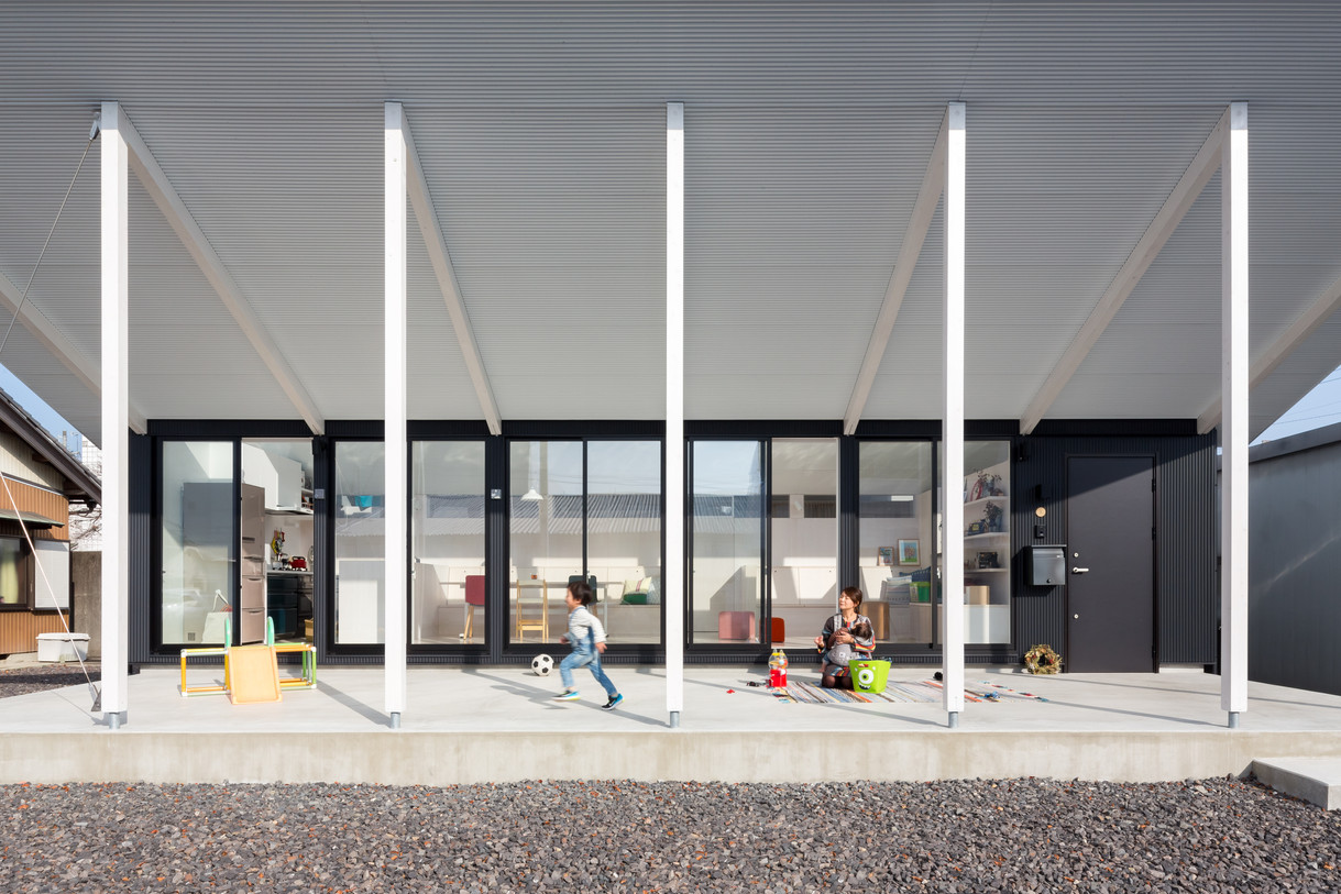 一宮のノコギリ屋根|川島範久建築設計事務所