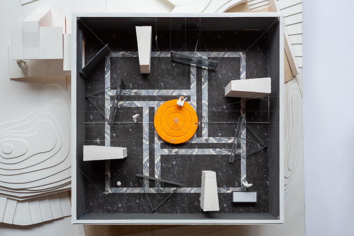 第58回ヴェネチア・ビエンナーレ国際美術展「Cosmo-Eggs|宇宙の卵」模型写真