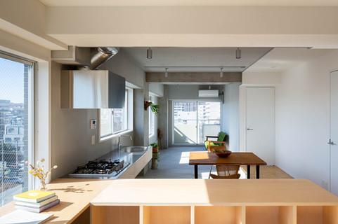 綾瀬の住宅|APARTMENT, AYASE