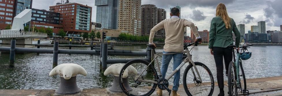 fietsen - stadsfiets - cube