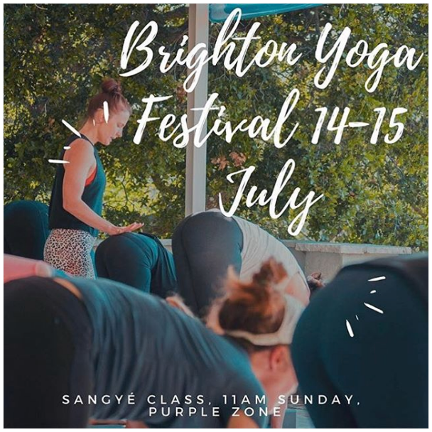 Join us at the Brighton Yoga Festival
