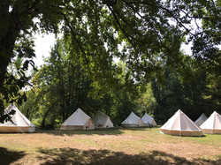 France retreat yoga garden7