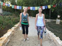 France retreat yoga garden 3
