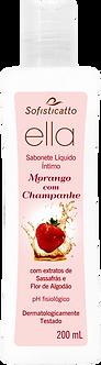 Sabonete Líquido Ella Morango com Champanhe 200 ml