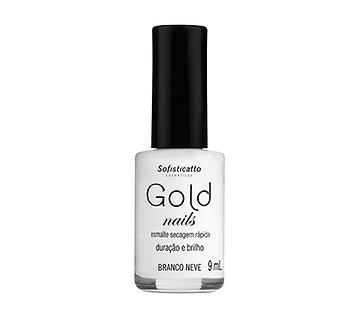 Esmalte Gold Nails Branco Neve 9ml