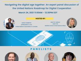UNA-Canada & BSIA invite you to 2021 Speakers series!