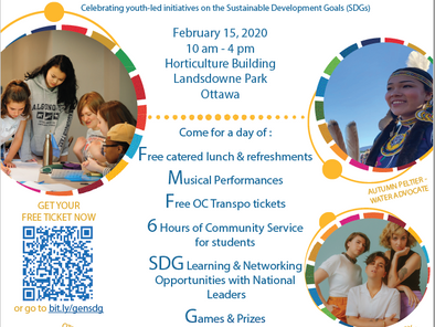 THE SEATS ARE LIMITED! Join us for the Generation SDG Summit!