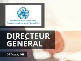 L'ACNU recrute un nouveau directeur ou directrice général.e !