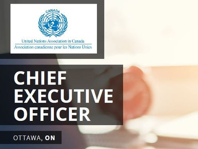 UNA-Canada is recruiting a new Chief Executive Officer!